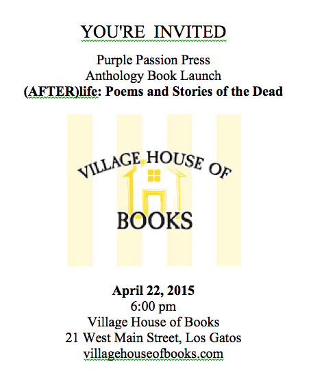 Purple Passion Press Anthology Launch