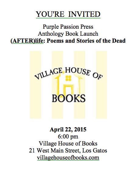Purple Passion Press Anthology Launch